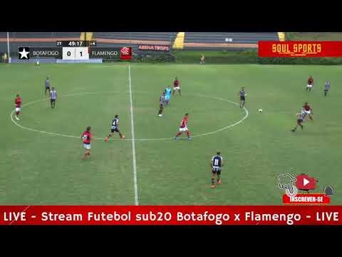 LIVE - Botafogo sub20 x Flamengo sub20 (segundo tempo)