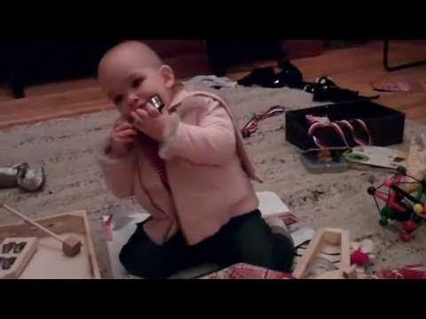 Caoilinn Meadow (13 months old) plays the blues harmonica — Rock Stardom runs in the family!