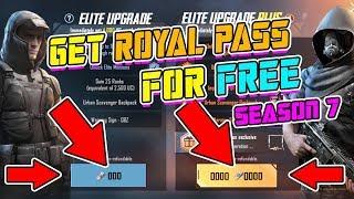royal pass season 7 pubg mobile free giveaway - TH-Clip