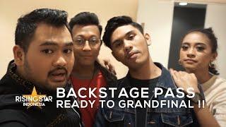 BACKSTAGE PASS : GRANDFINALIS !