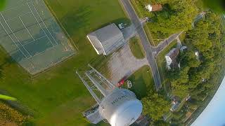 Water Tower Training Raw FPV Flight