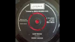 CHUBBY CHECKER AND DEE DEE SHARP...SLOW TWISTIN'