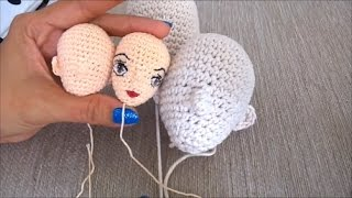 DIY-How To Crochet A Amigurumi Doll Head