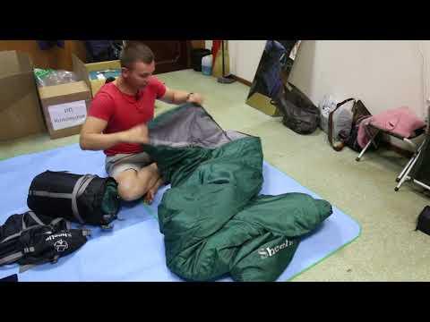 Спальный мешок Greenell «Линсгари -1». Видеообзор.