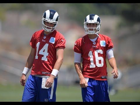 Should Rams Start Sean Mannion Over Jared Goff? | Stadium