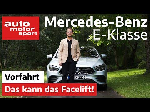 Die neue Mercedes E-Klasse (2020): Was bringt das Facelift? - Review/Fahrbericht | auto motor sport