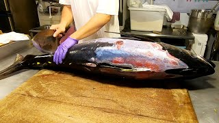 How to Cut a Whole Yellowfin Tuna