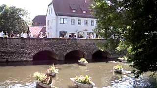 preview picture of video 'Die schönsten Plätze in Erfurt (Domplatz, Fischmarkt, Krämerbrücke etc.)'