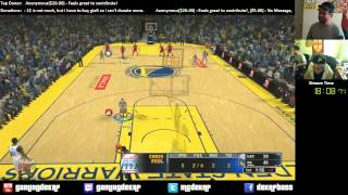 NBA 2K14: Golden State Warriors Vs Los Angeles Clippers Gameplay Xbox360