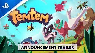PlayStation Temtem - Announce Trailer | PS5 anuncio