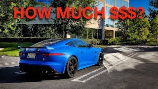 How Much Do I Pay For my Jaguar F-Type SVR? (Monthly Payments, Running Costs, Etc)