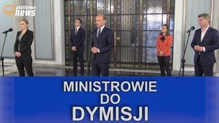 Wotum nieufności wobec ministrów PiS.