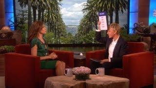 Eva Mendes And Ellen Have Words