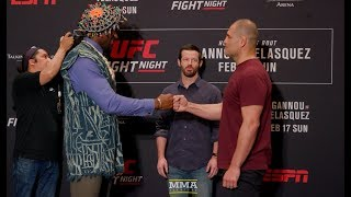 UFC Phoenix Media Day Staredowns - MMA Fighting