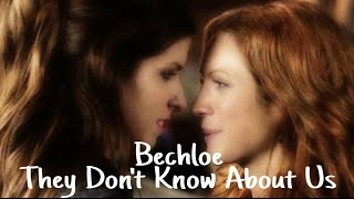 beca & chloe | they don't know about us (Pitch Perfect)
