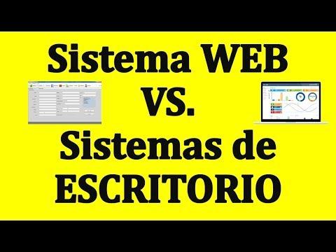 SISTEMAS WEB vs SISTEMAS DE ESCRITORIO. (Hosting y Servidor Local)