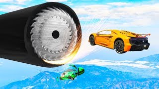 Can You SURVIVE This EXTREME STUNT RACE in GTA 5?!