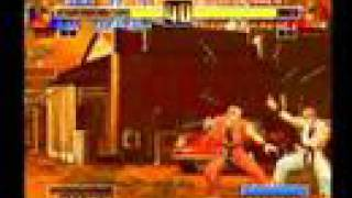 King of fighters 1996 evolution - unused moves