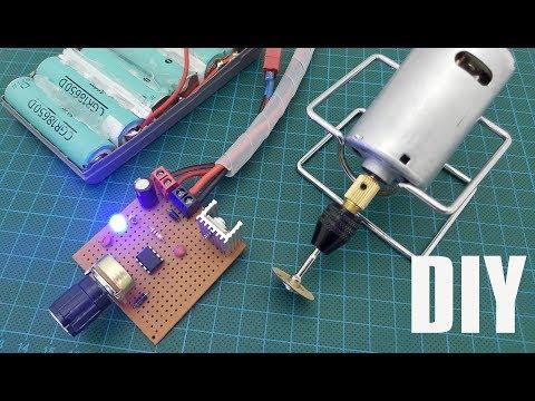 Tamirat Tadilat İçin Evde dramel (gravür) Yapımı Elektrik elektronik