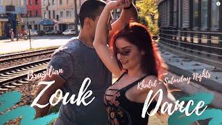 Khalid feat. Kane Brown Saturday Nights (Remix) - Zouk Dancers Kadu and Larissa