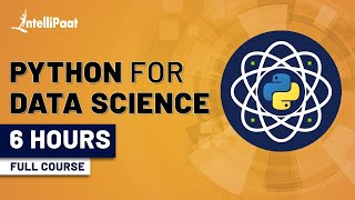 Python for Data Science | Data Science With Python | Python Data Science Tutorial | Intellipaat