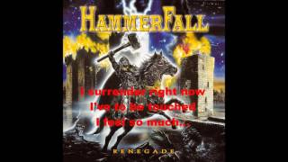 Hammerfall - Head Over Heels Bonus Track lyrics ( Accept Cover)