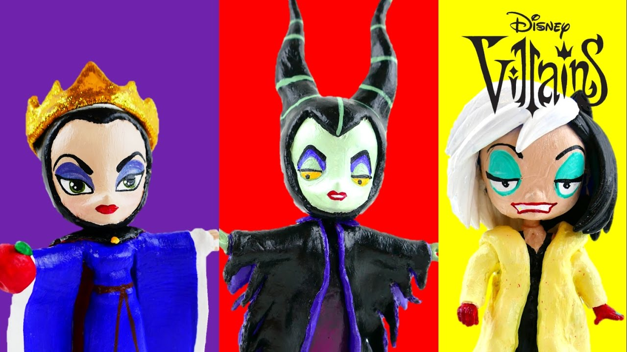 Compilation - My Little Pony Disney Villains The Evil Queen Maleficent Cruella de Vil