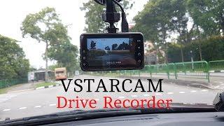 VSTARCAM Dash Camera Review & Unboxing [HD]