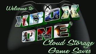 Cloud Storage on Xbox One