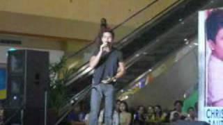 Tell me your name - Christian Bautista @ Robinson Starmills Pampanga