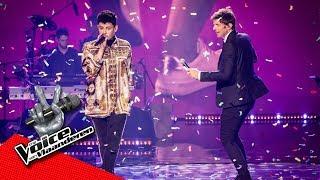 Koen & Wannes - 'Can't Stop The Feeling' | Liveshows | The Voice Van Vlaanderen | VTM