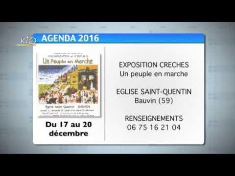 Agenda du 12 décembre 2016