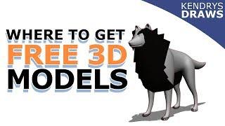 Clip Studio paint- Get FREE 3D MODELS