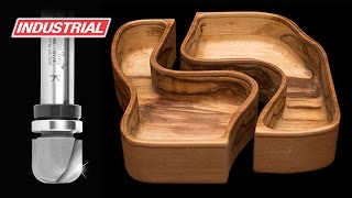 Router Project: Double Interlocking Wooden Bowls | ToolsToday