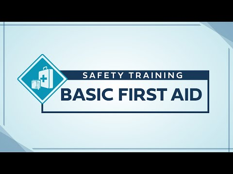 Service Training - First Aid - YouTube