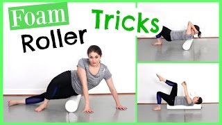 Foam Roller Tricks for Tight Muscles & Ab Work   Kathryn Morgan by Kathryn Morgan