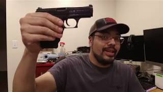 HK P7 PSP 9mm Quick look and Field strip