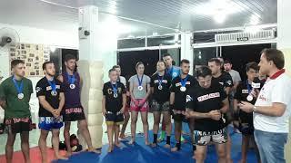 Onze marquesienses conquistam medalhas de ouro em competição de kickboxing