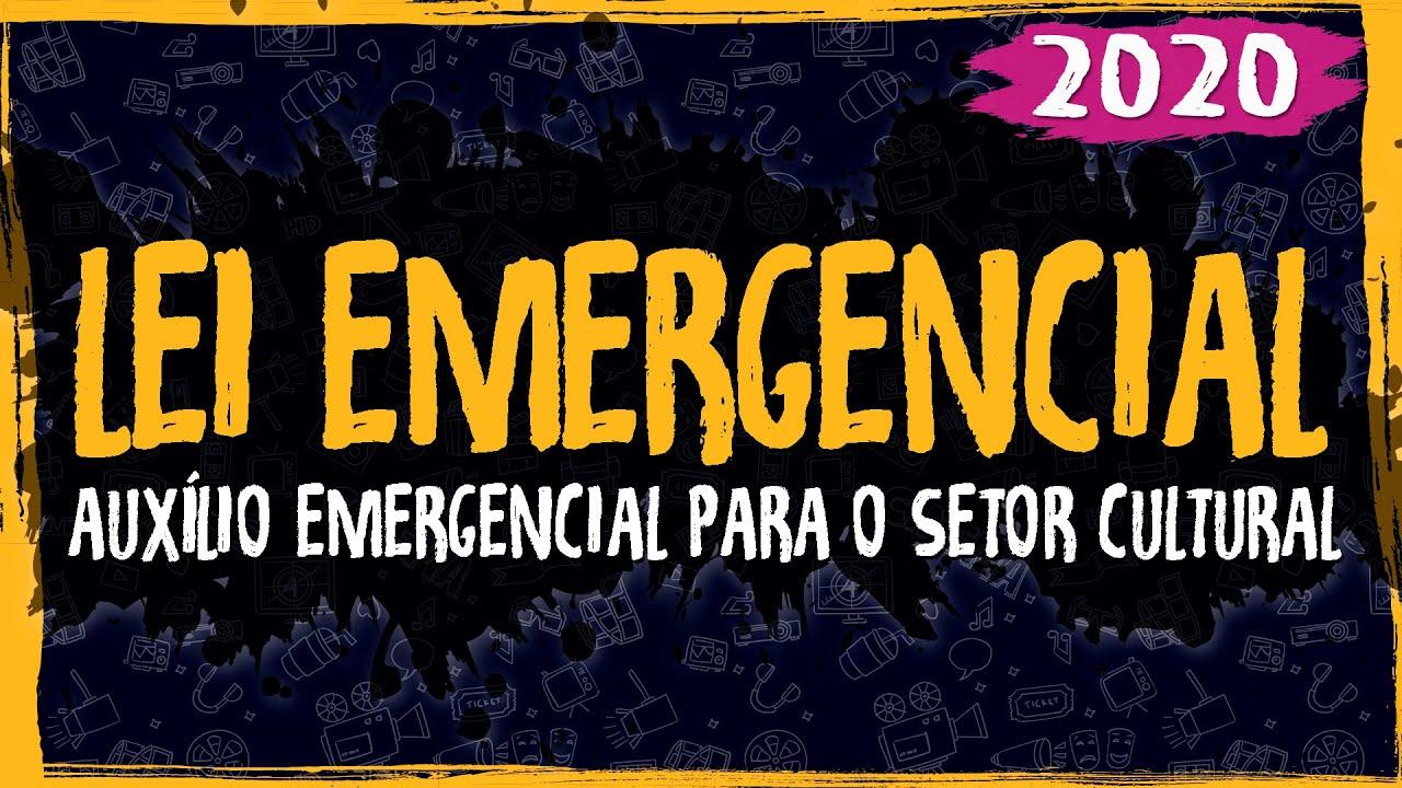 Lei Emergencial 1075 – Auxílio Emergencial para o Setor Cultural – 2020