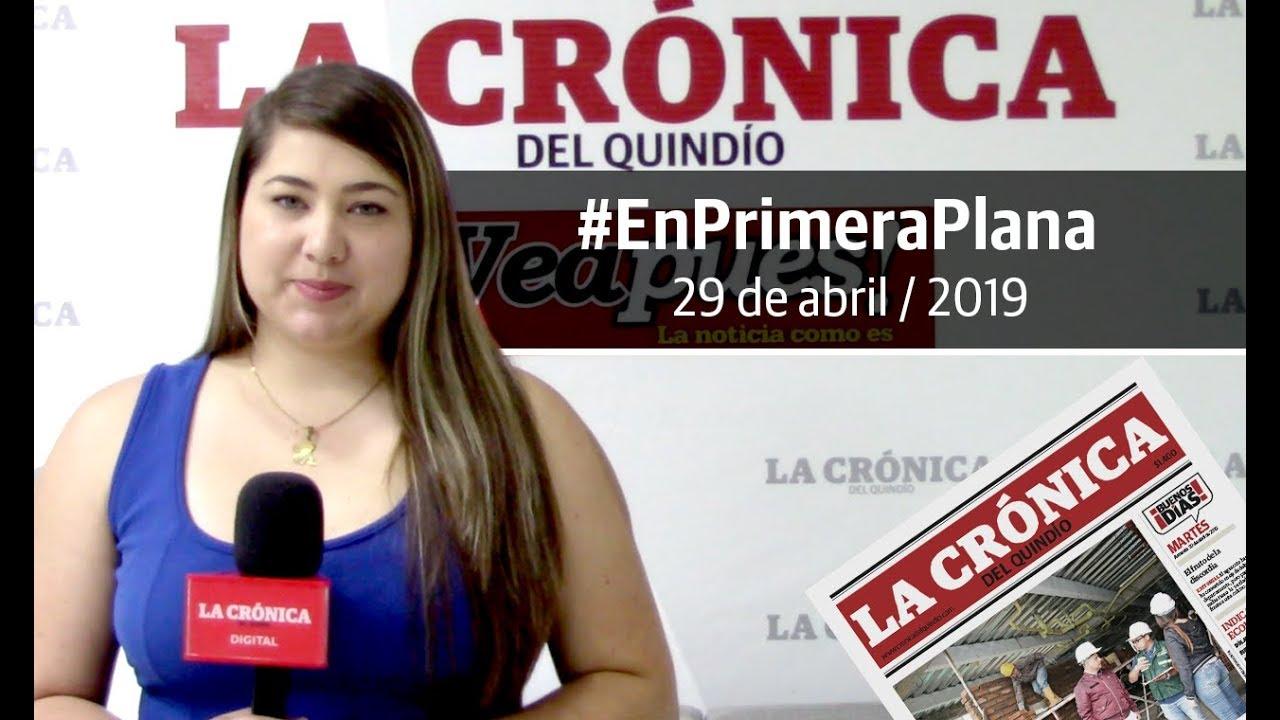 En Primera Plana: lo que será noticia este martes 30 de abril