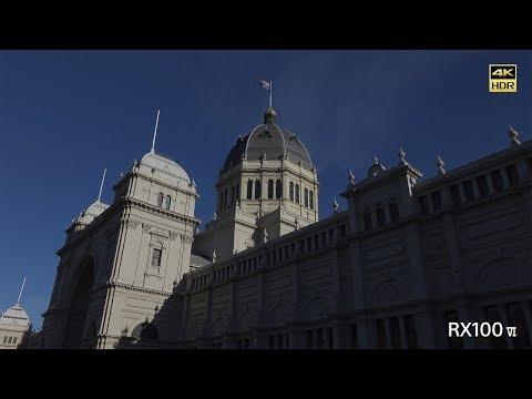 Sony   Cyber-shot   RX100 VI - Walk through Melbourne - 4K HDR(HLG)