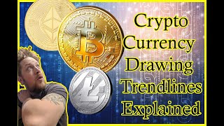 How to Draw and Read Trendlines on a Bitcoin Chart - The easiest How to!