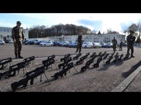 Gendarmerie Nationale cérémonie école de Tulle - GAV - Stage 44/14 - 8ième Cie