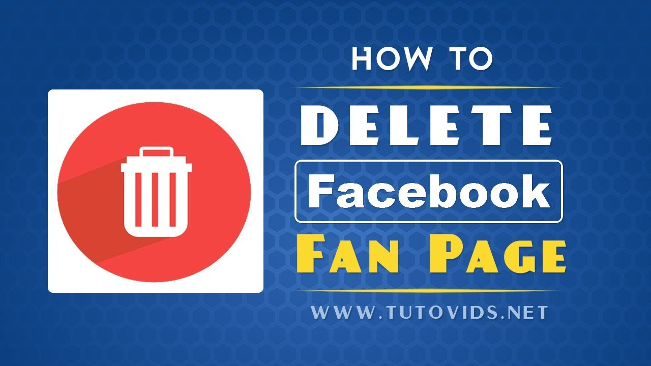 How to Delete a Facebook Page - 2017