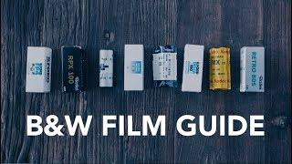 ULTIMATE BLACK AND WHITE FILM GUIDE: 100 SPEED, 120 FILM