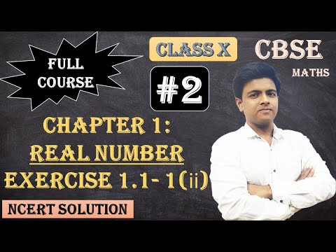 CBSE Full Course | 1 - Real Numbers | Exercise 1.1: 1.Use Euclid's division algorithm to find the HCF of : (ii) 196 and 38220