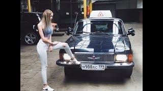 Девушка Анастасия за рулём