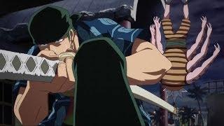 Roronoa Zoro VS Hatchan The Octopus (Hachi) - Eng Sub [1080HD]
