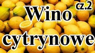 Wino Cytrynowe cz.2 - eksperyment - Dodajemy korę cynamonu i gwiazdki anyżu do nastawu