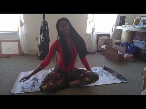 A demo of my gentle yoga class